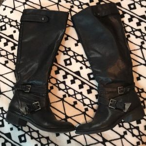 Shoes - ♥️👢🔥women's tall black boots!!